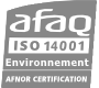 Certification AFAQ ISO 14001